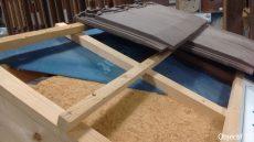 isolation laine de bois sous toiture