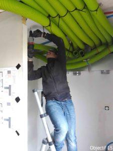 Installation VMC double flux près de rouen